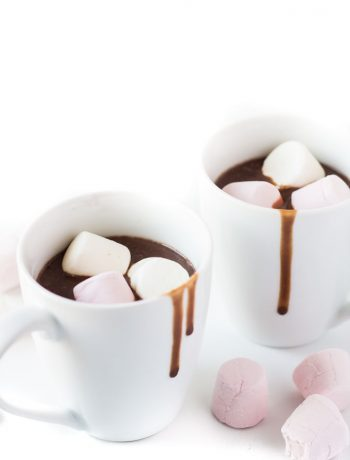 Thick and Creamy Hot Chocolate | Marsha's Baking Addiction