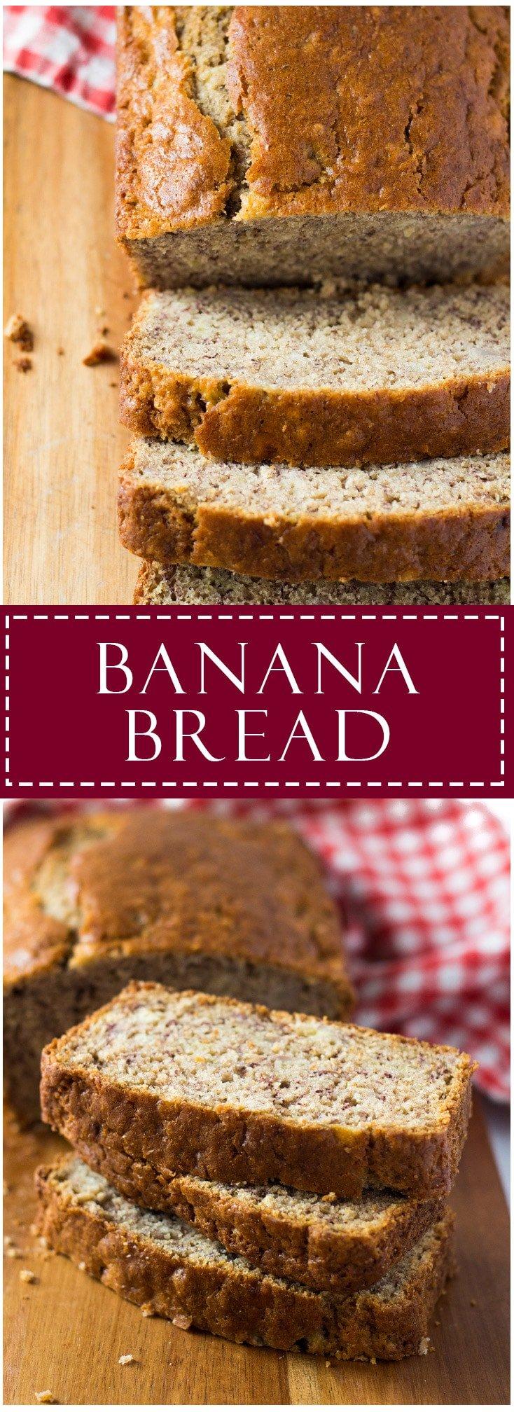 Banana Bread   Marsha's Baking Addiction