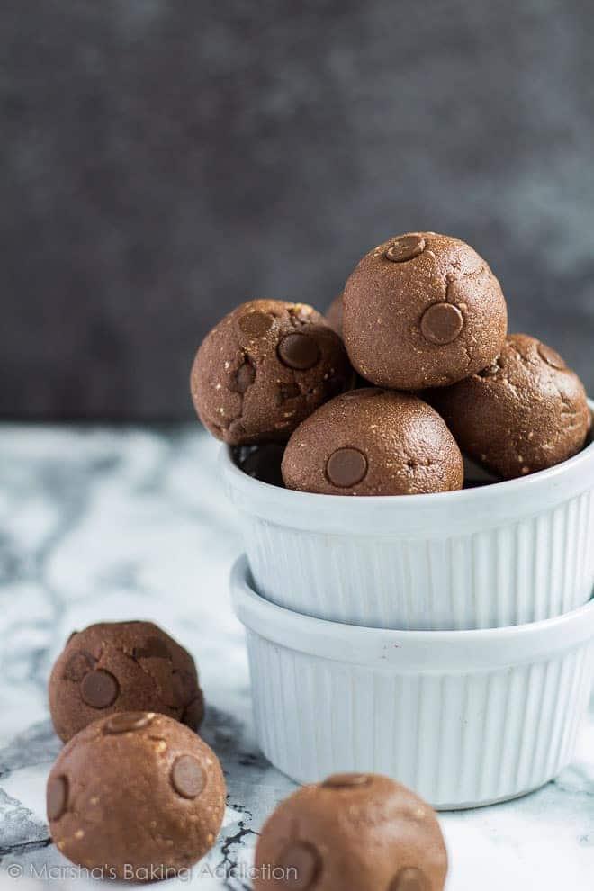 No-Bake Nutella Protein Balls   Marsha's Baking Addiction