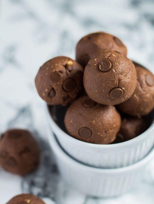 No-Bake Nutella Protein Balls | Marsha's Baking Addiction