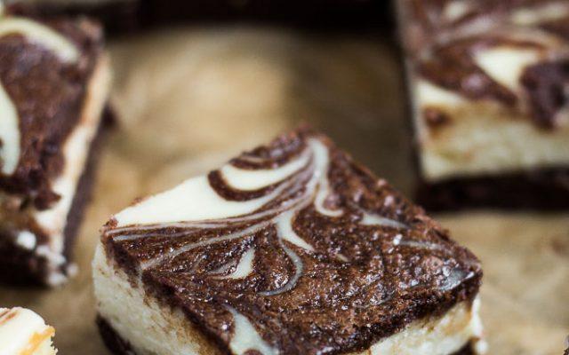 Cheesecake Brownies   Marsha's Baking Addiction