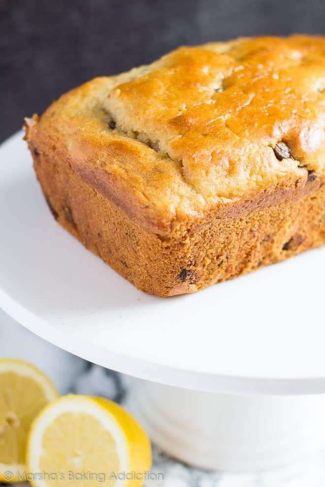 Chocolate Chip Lemon Bread | Marsha's Baking Addiction