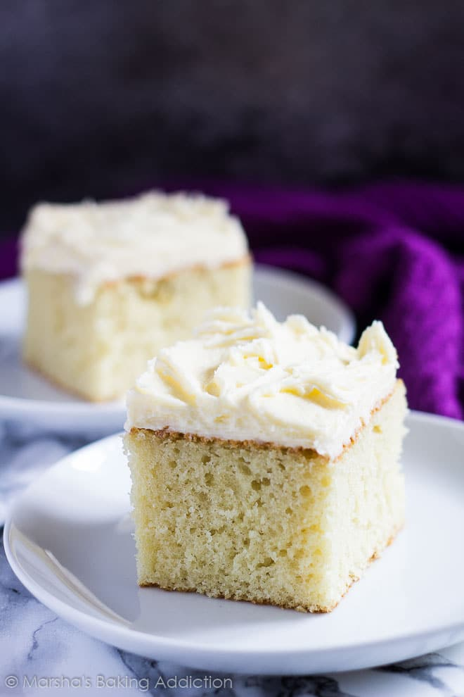 Moist Vanilla Birthday Cake Recipe