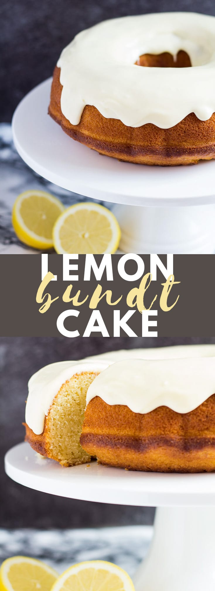 Lemon Bundt Cake - This deliciously moist and fluffy lemon bundt cake drizzled with a thick lemon icing is bursting with refreshing and tangyflavours. A perfect cake for Spring/Summer! #lemoncake #bundtcake #cakerecipes #recipe