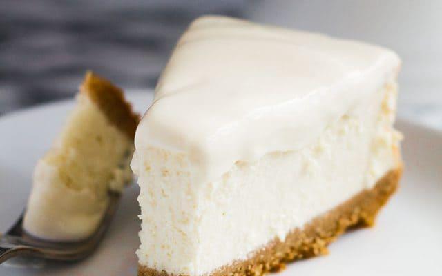 Perfect Vanilla Cheesecake   Marsha's Baking Addiction