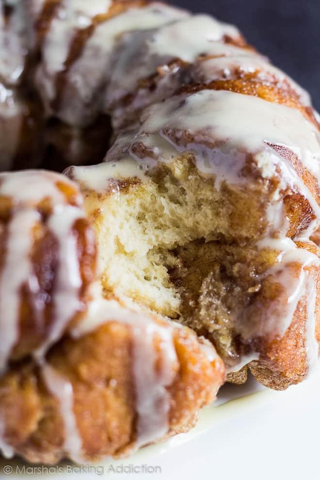 Monkey Bread   Marsha's Baking Addiction @marshasbakeblog