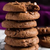 Double Chocolate Cream Cheese Cookies