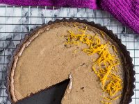Dark Chocolate Orange Tart | marshasbakingaddiction.com @marshasbakeblog