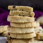 Chocolate Chip Slice 'n' Bake Cookies | marshasbakingaddiction.com @marshasbakeblog