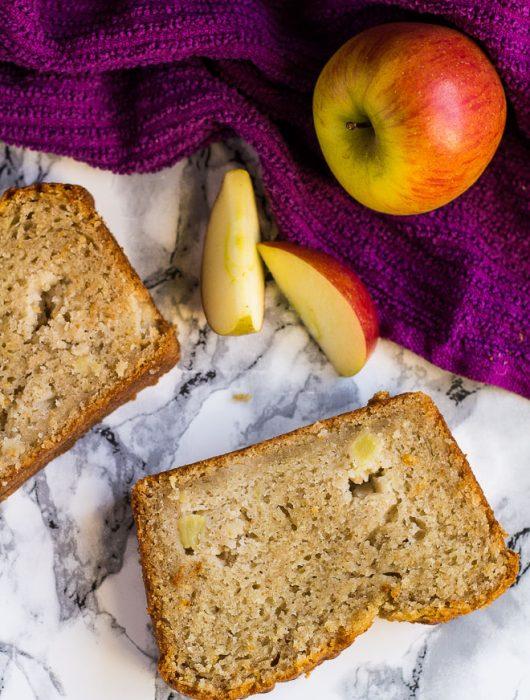 Apple Cinnamon Bread   marshasbakingaddiction.com @marshasbakeblog