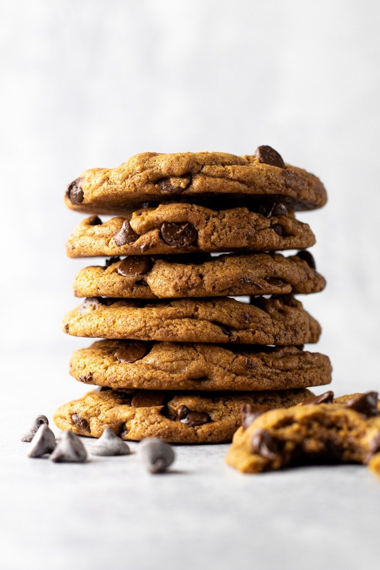 Chocolate Chip Ginger Cookies