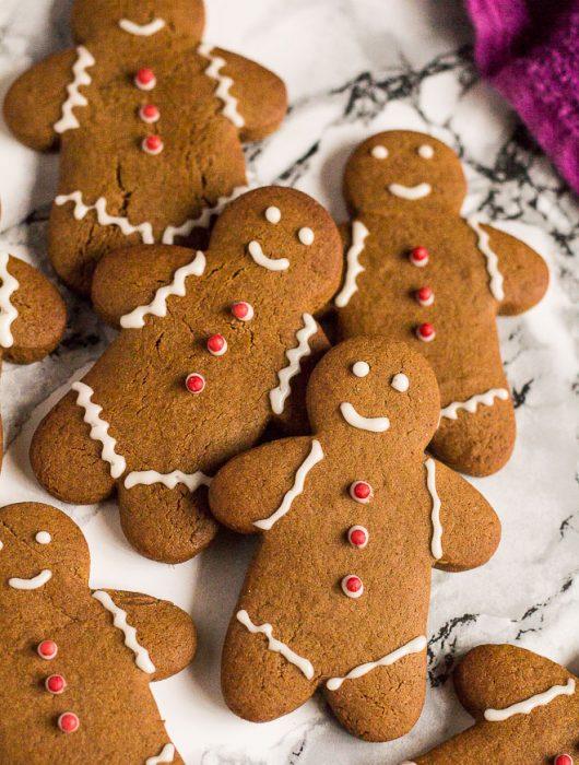 Gingerbread Men | marshasbakingaddiction.com @marshasbakeblog