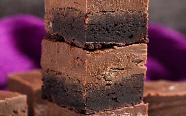 Nutella Fudge Brownies | marshasbakingaddiction.com @marshasbakeblog