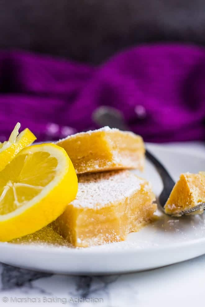 Lemon Bars | marshasbakingaddiction.com @marshasbakeblog