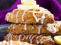 Lemon Drizzle Scones | marshasbakingaddiction.com @marshasbakeblog
