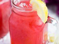 Raspberry Lemonade | marshasbakingaddiction.com @marshasbakeblog