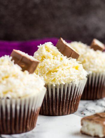 Chocolate Coconut Cupcakes | marshasbakingaddiction.com @marshasbakeblog