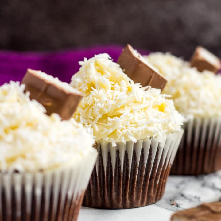 Chocolate Coconut Cupcakes