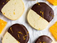Chocolate Orange Slice 'n' Bake Cookies | marshasbakingaddiction.com @marshasbakeblog