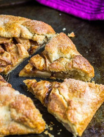 Homemade Apple Galette | marshasbakingaddiction.com @marshasbakeblog
