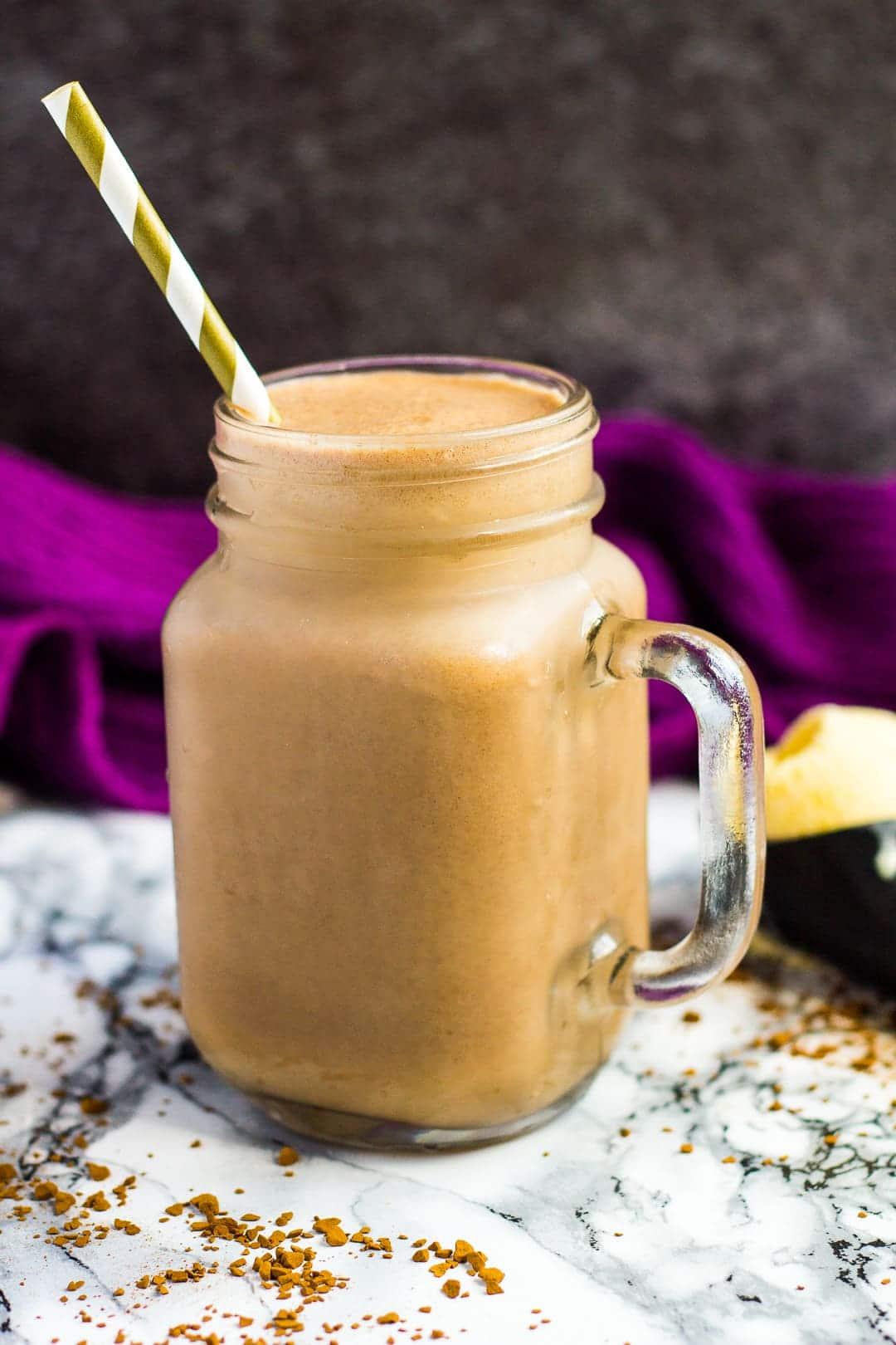 Nutella Coffee Milkshake | marshasbakingaddiction.com @marshasbakeblog