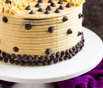 Mocha Layer Cake - Incredibly moist and fluffy chocolate layer cake infused with coffee, and frosted with a sweet coffee flavoured buttercream! Recipe on marshasbakingaddiction.com