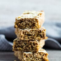 Hot Cross Bun Spiced Flapjacks