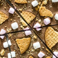 S'mores Chocolate Bark