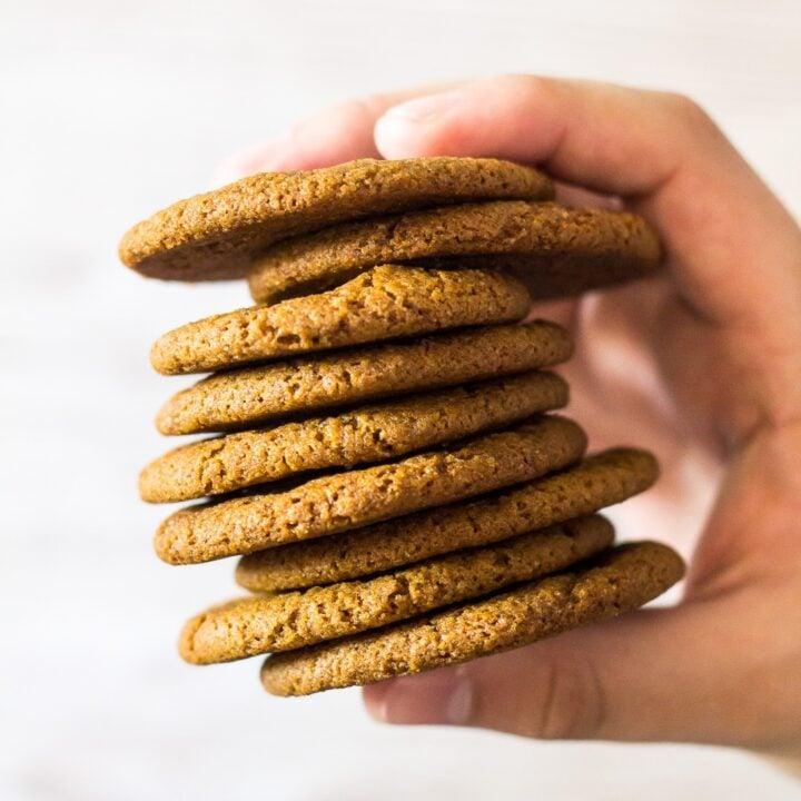 Homemade Gingernut Cookies