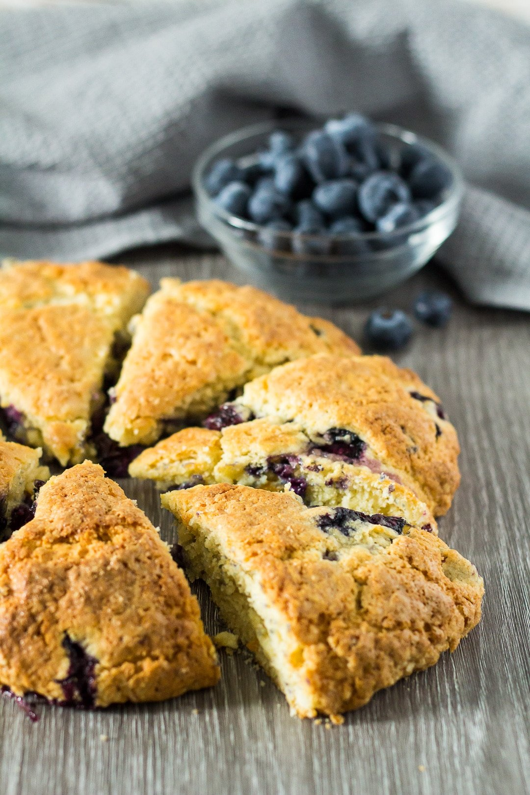 Blueberry Orange Scones.