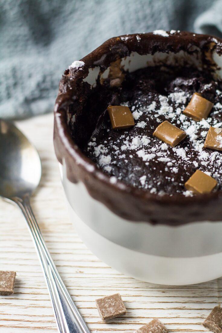 Microwave Chocolate Mug Cake Marsha S Baking Addiction