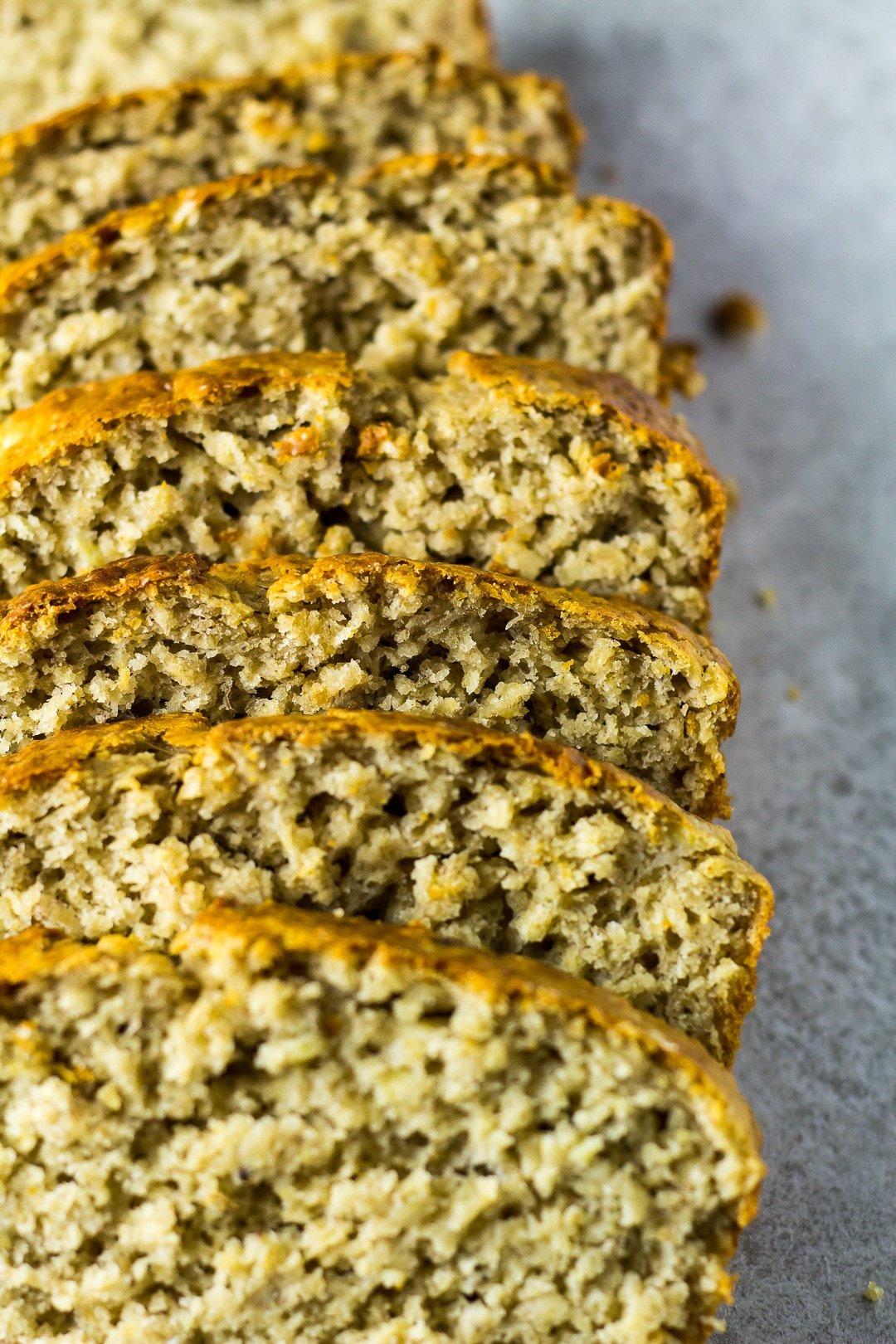 Banana Oatmeal Bread