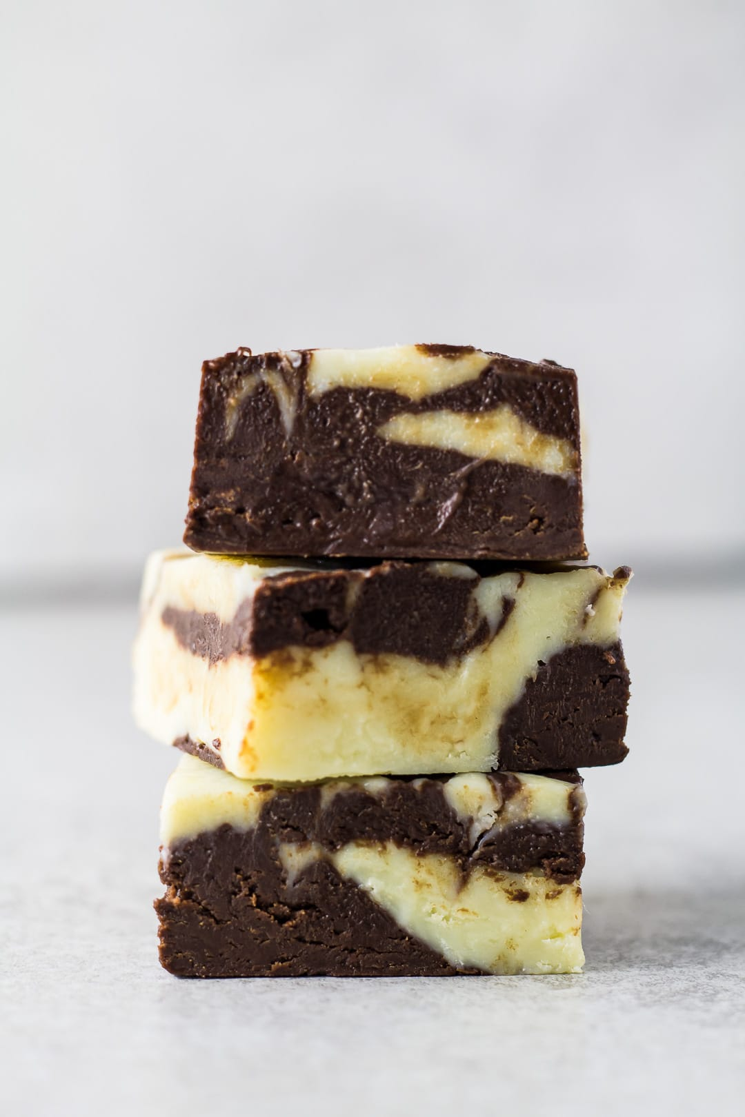 Chocolate Marble Fudge