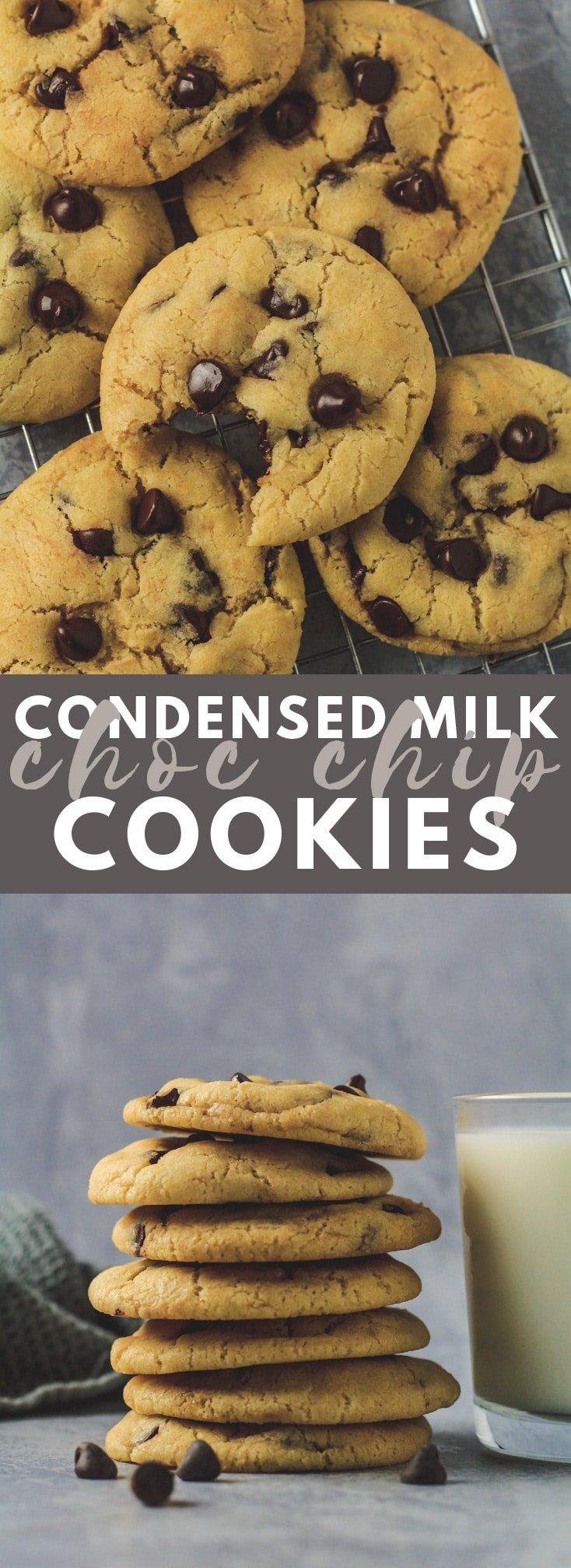 Condensed Milk Chocolate Chip Cookies