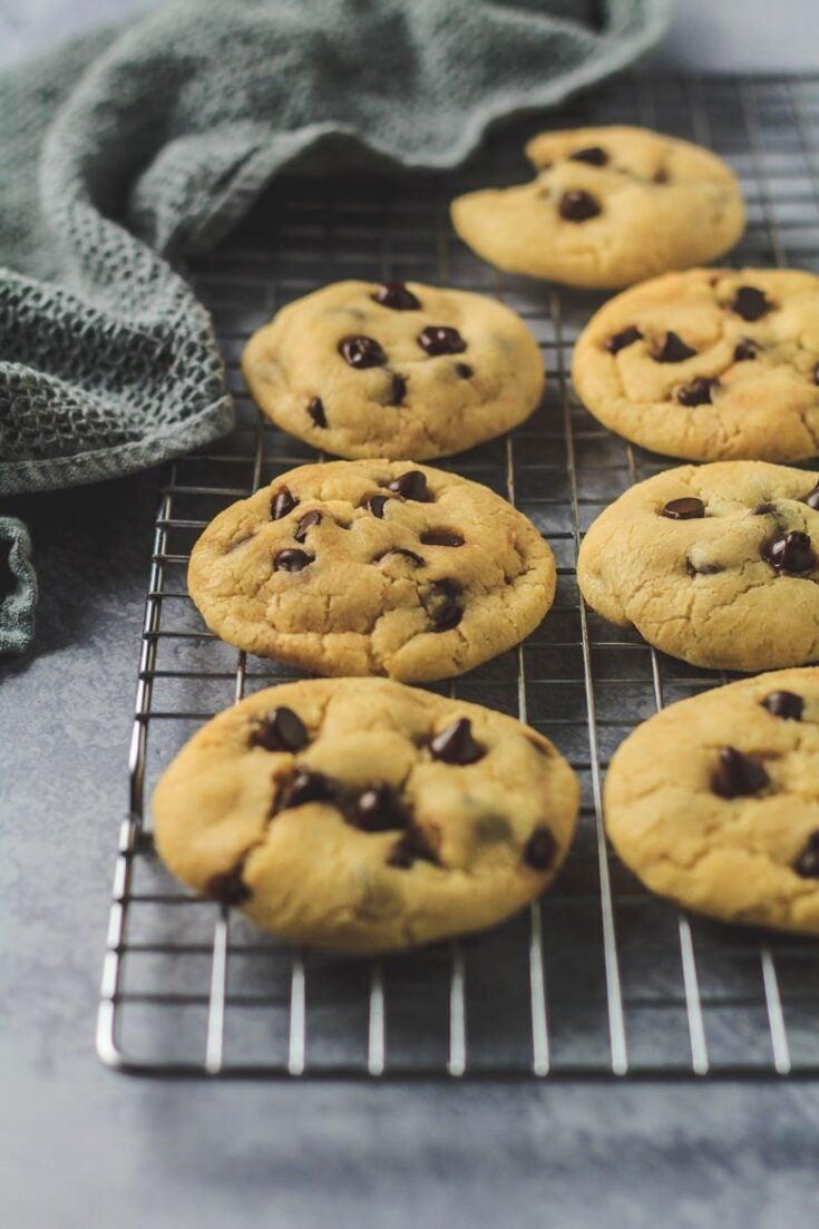 Condensed Milk Chocolate Chip Cookies Marsha S Baking Addiction
