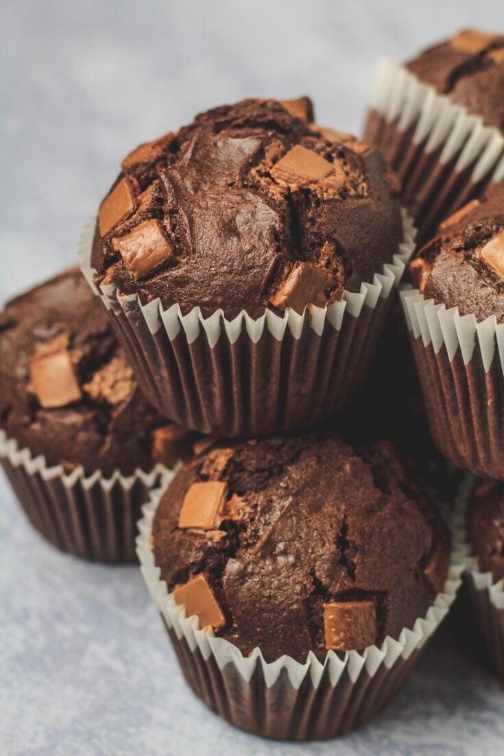 Double Chocolate Muffins Marsha S Baking Addiction