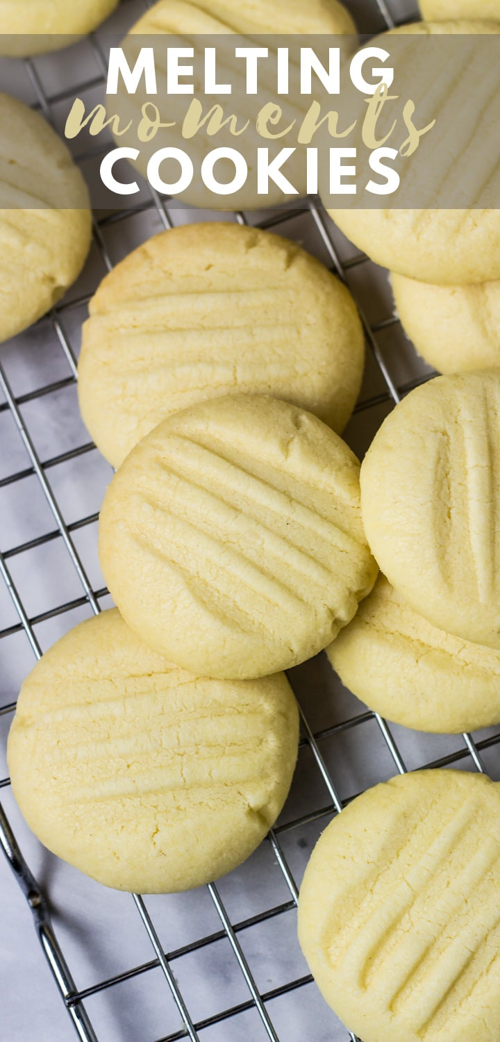 Melting Moments (Butter Cookies)