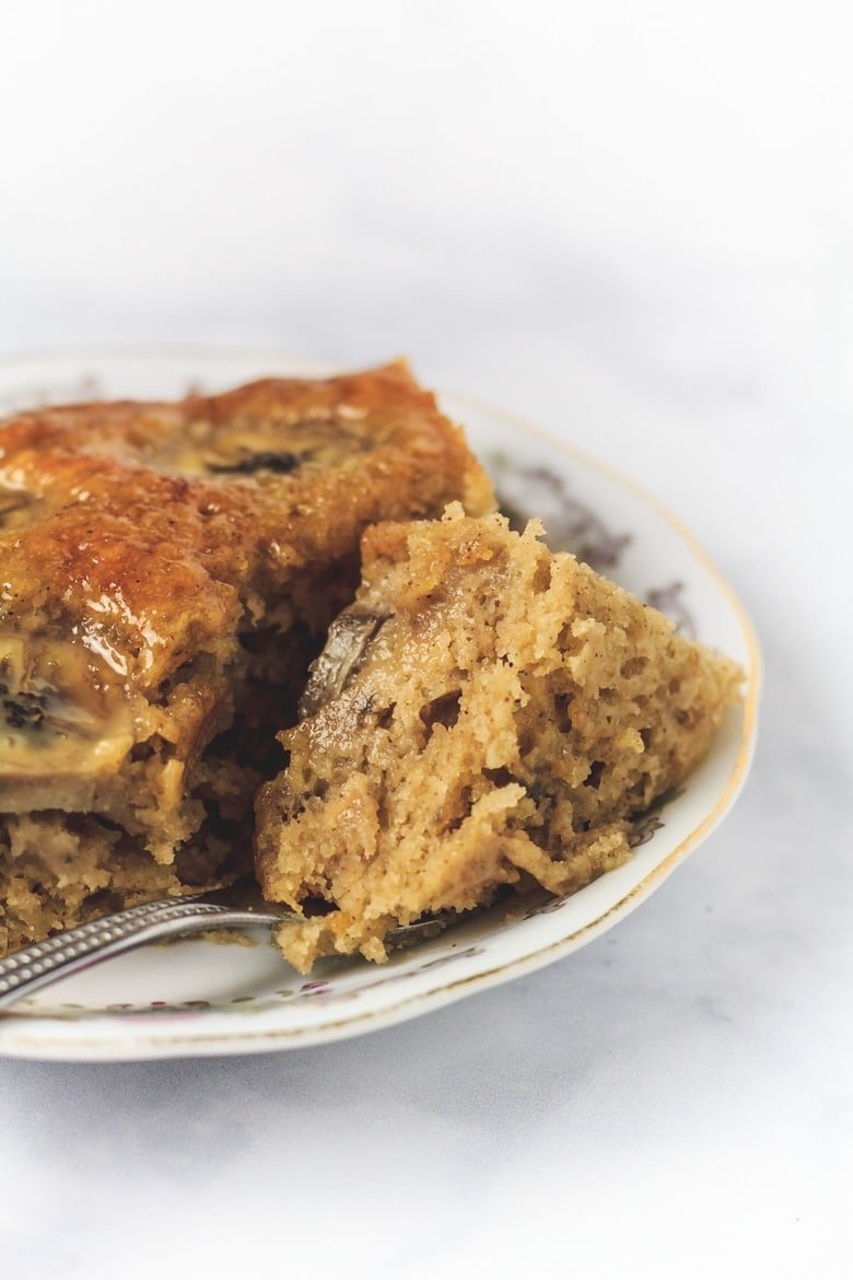 Sticky Toffee Banana Cake