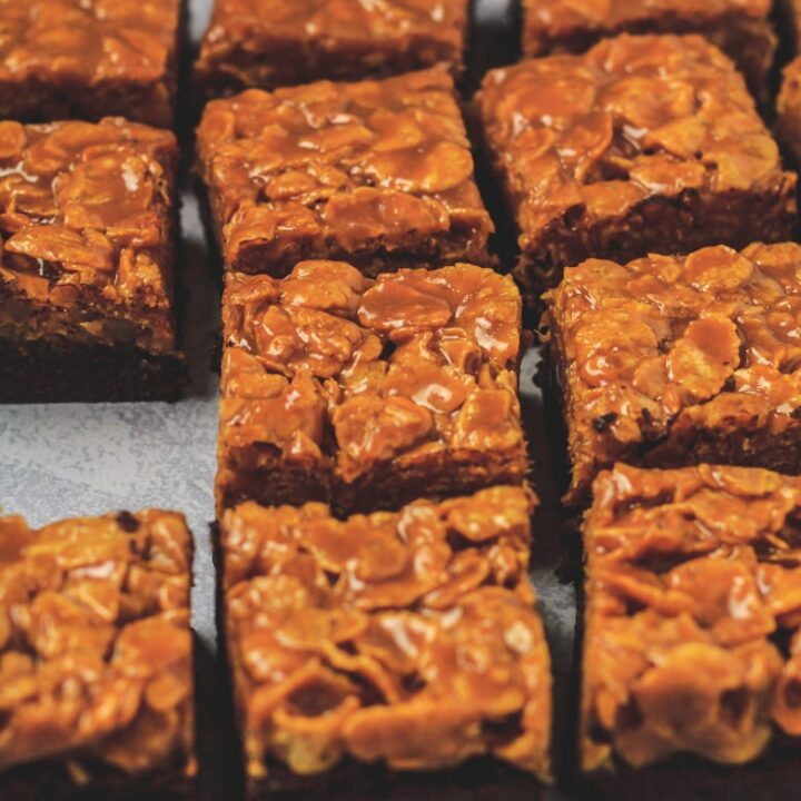 Caramel Crunch Brownies