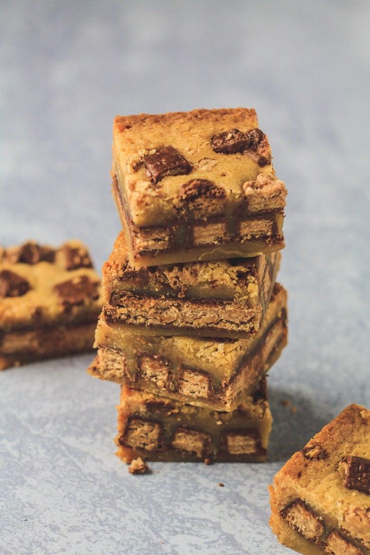 Fudgy KitKat Blondies