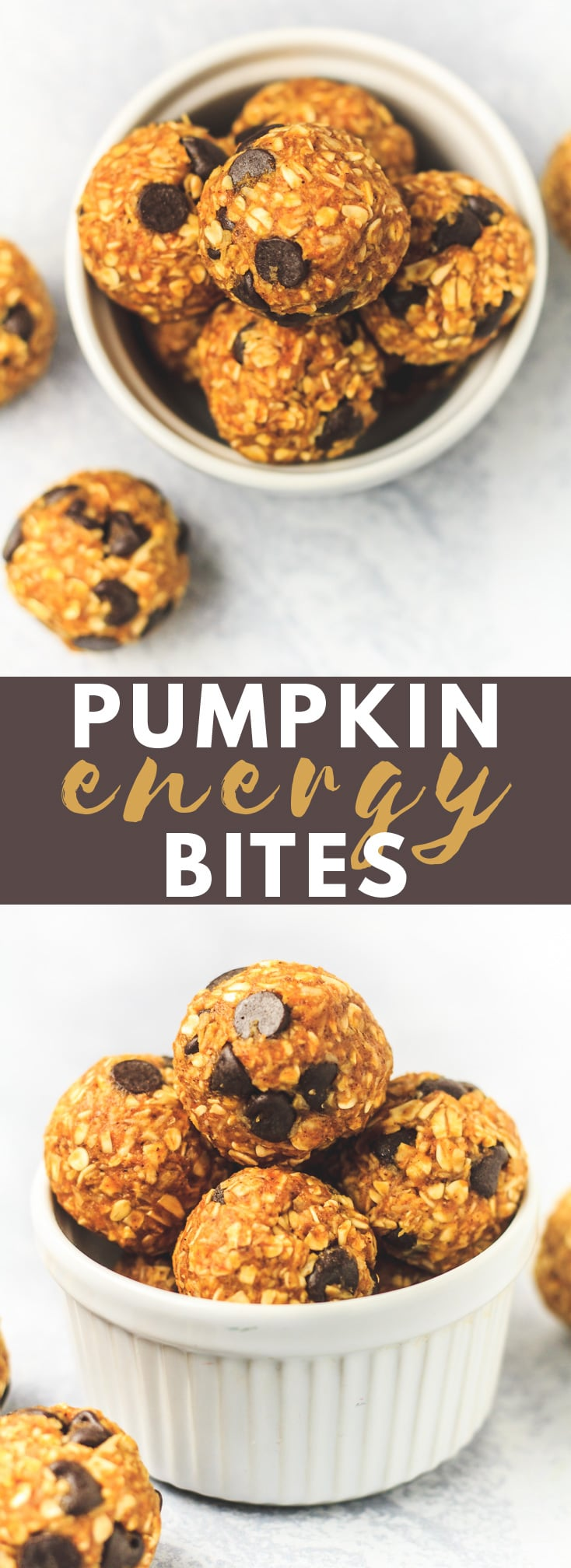 Pumpkin Energy Bites