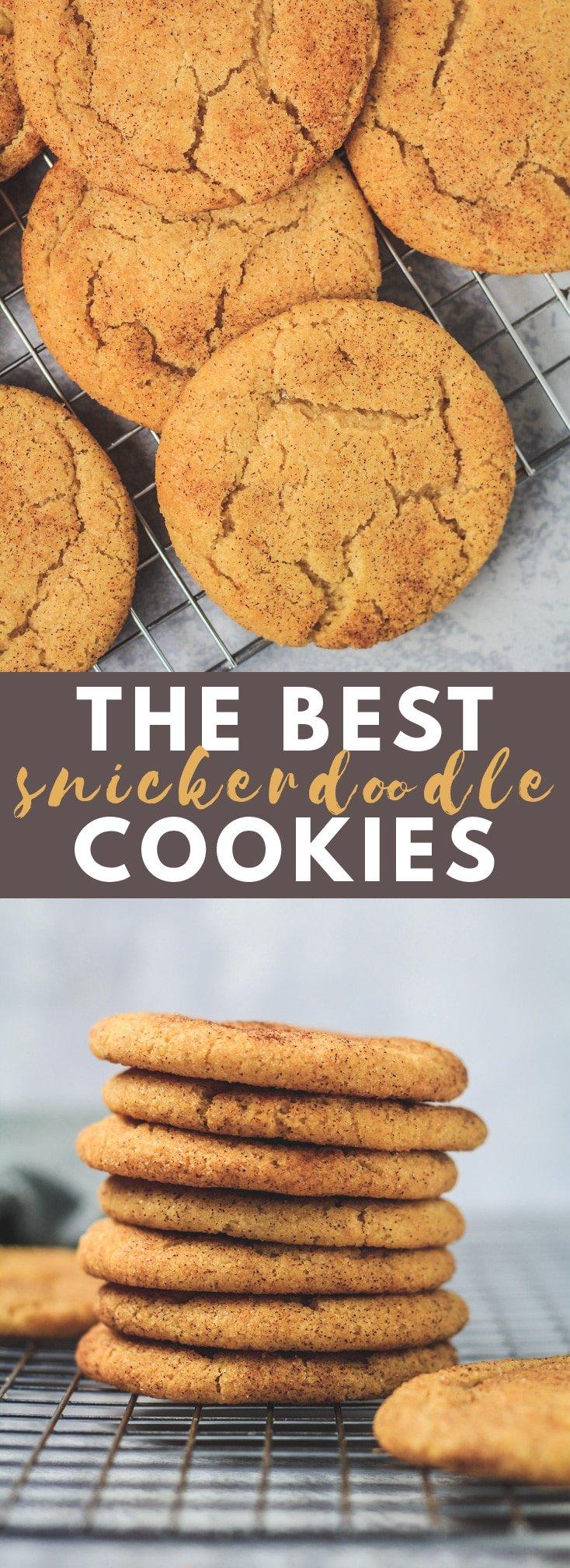 The BEST Snickerdoodles