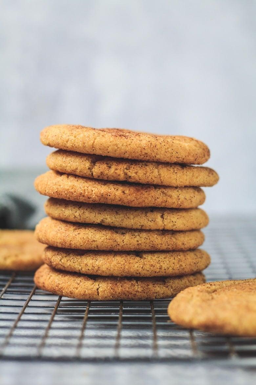The BEST Snickerdoodle Cookies