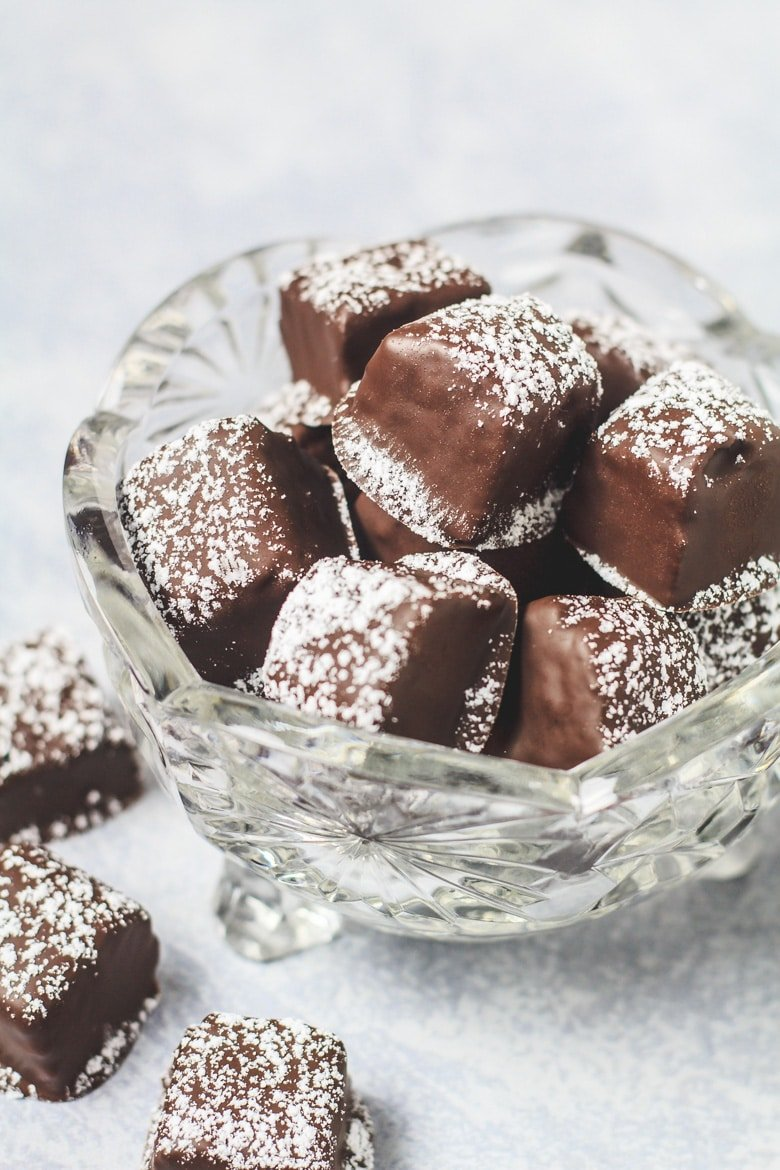 Cinnamon Brownie Bites