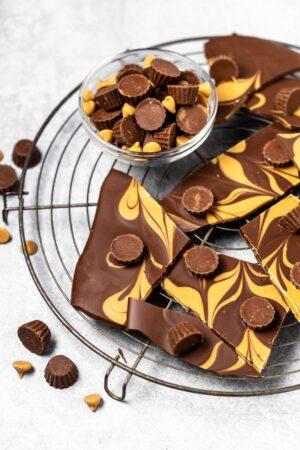 Chocolate Peanut Butter Bark