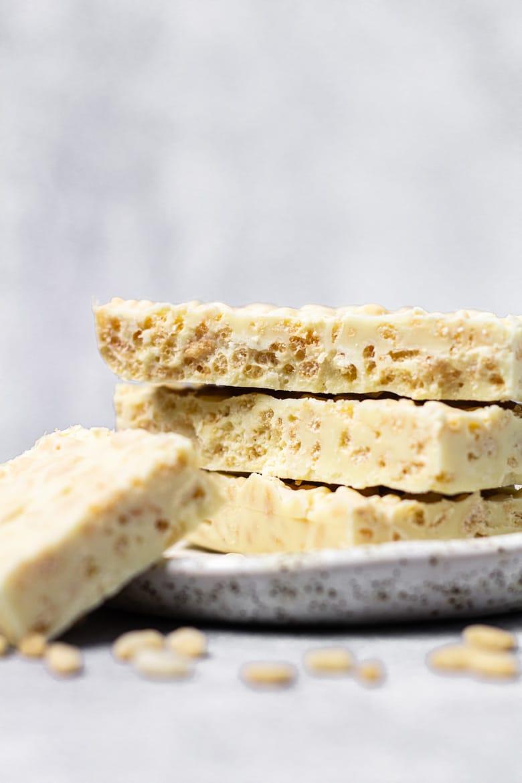 White Chocolate Crunch Bars