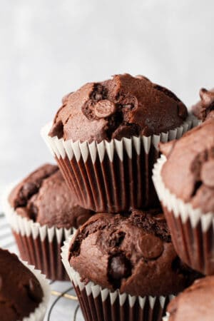 Mexican Hot Chocolate Muffins