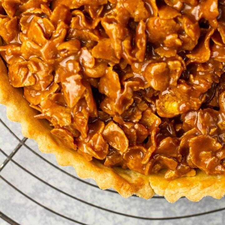 Cornflake Jam Tart